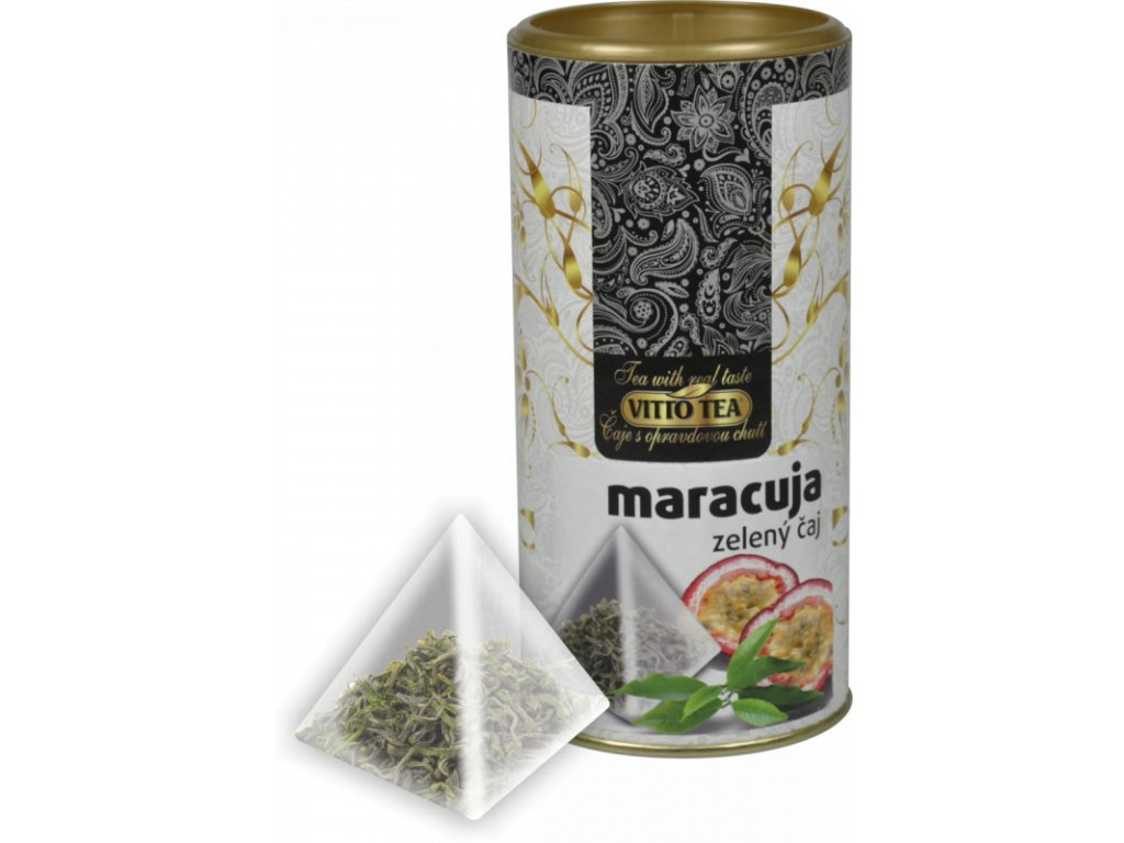 Vitto Tea Zelený čaj maracuja 22,5g