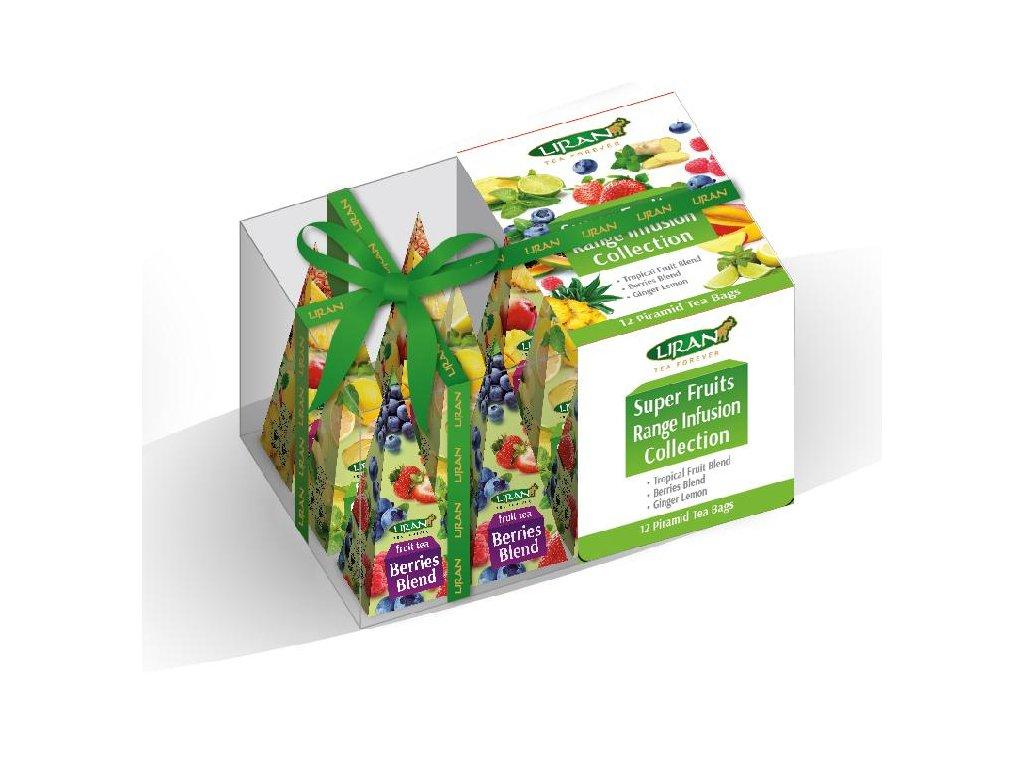 Liran čajová kolekce Super Fruit 3x4x2g