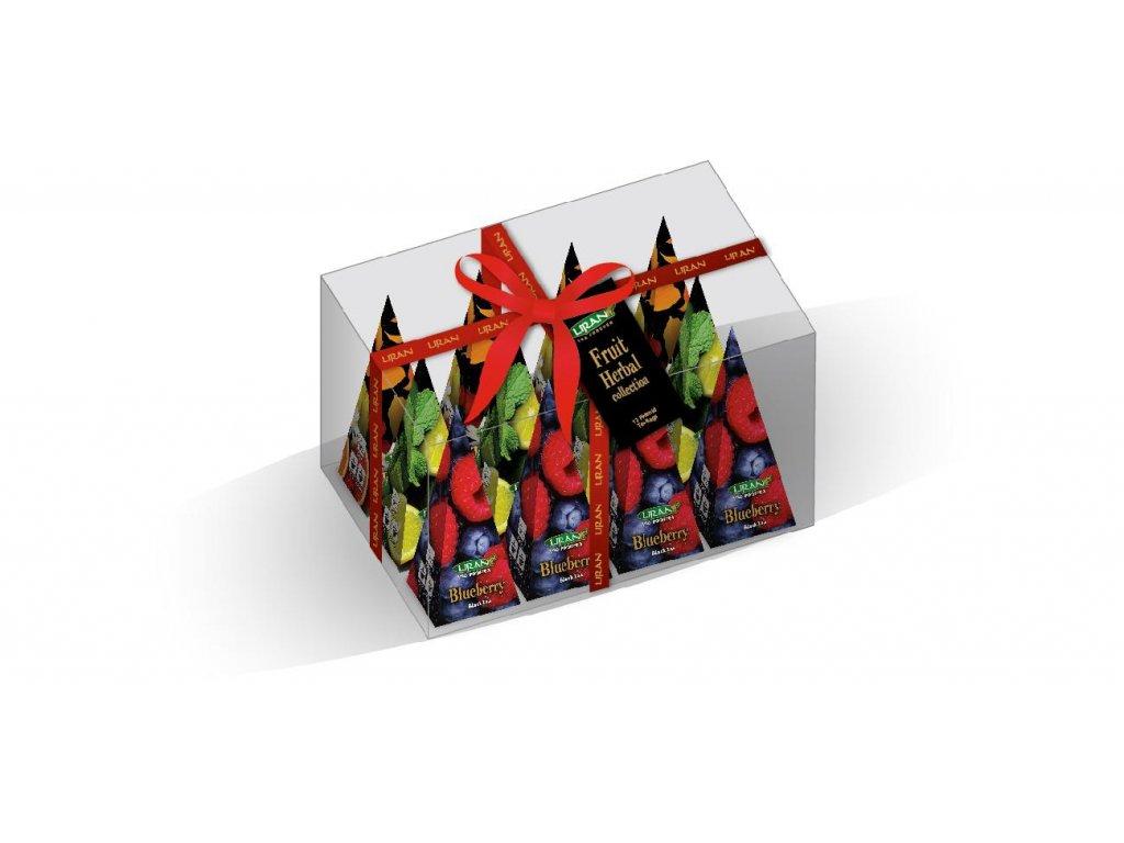Pyramidové čaje Fruit Herbal 3x4x2g