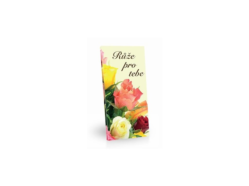 Mléčná čokoláda Růže pro tebe 100g
