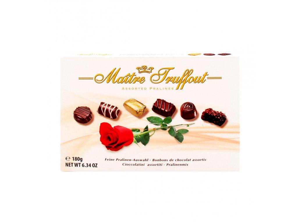 Maitre Truffout Výběr pralinek růže 180g
