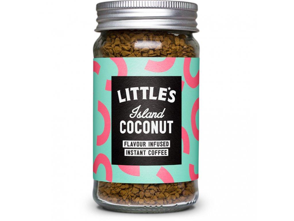 Instantní káva Littles Island Coconut 50g