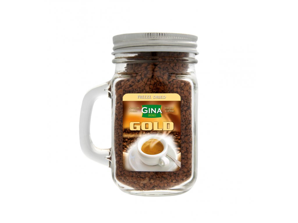 Gina Instantní káva v hrnečku s ouškem 100g