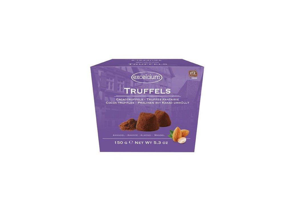 Excelcium Truffels Almond Belgické mandlové truffle 150g