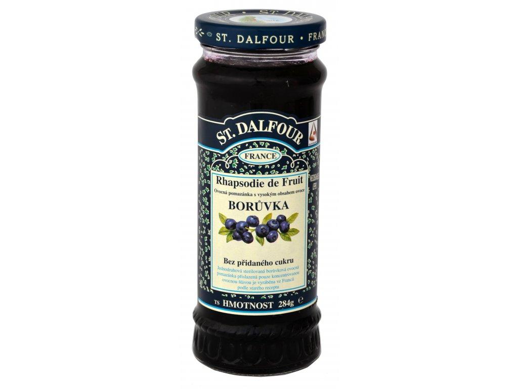 St. Dalfour borůvka ovocná pomazánka 284g