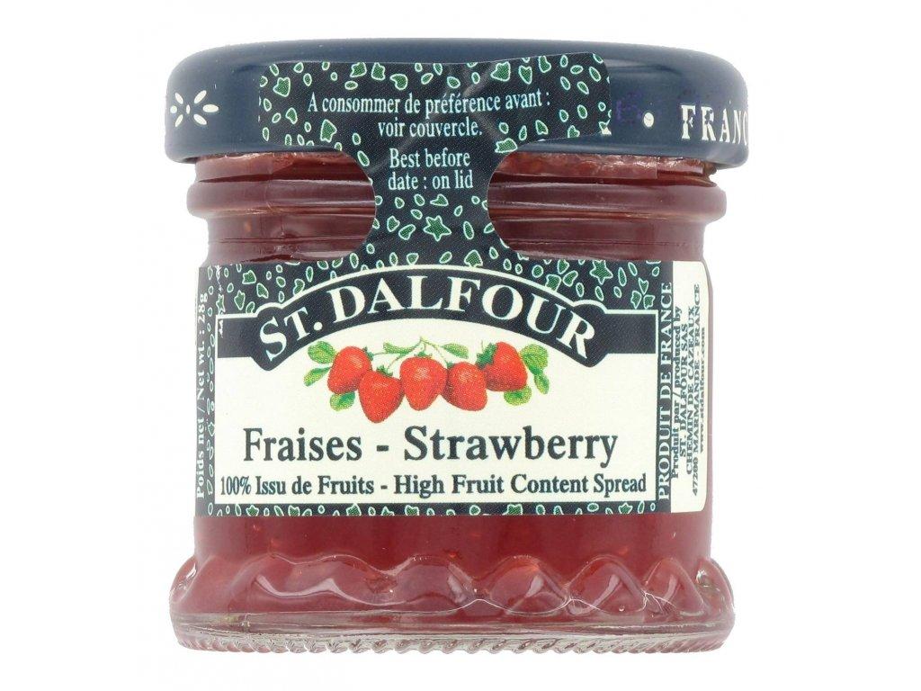 St. Dalfour Ovocná pomazánka jahoda 28g (jednoporcová)