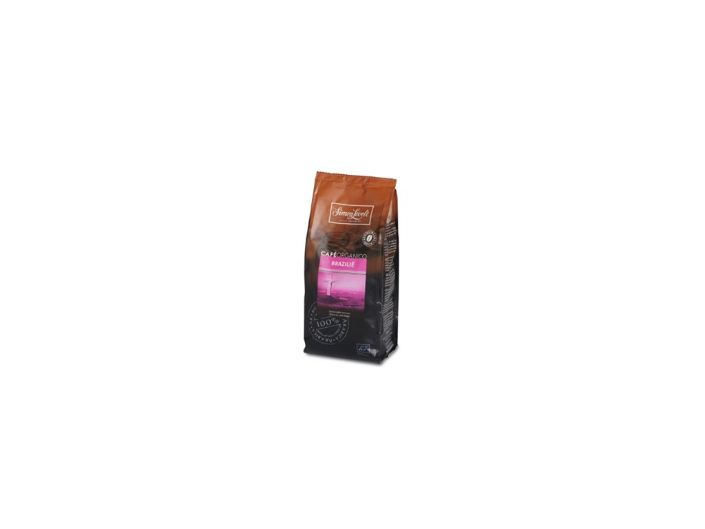 Simon Levelt Plantážní zrnková káva Brazílie 250g