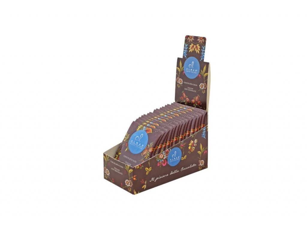 Al Almar horká čokoláda s lískovými oříšky 30g