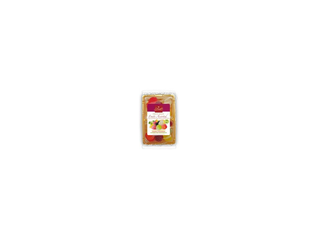Emoti Fruit Jelly Ovocné želé v cukru 200g
