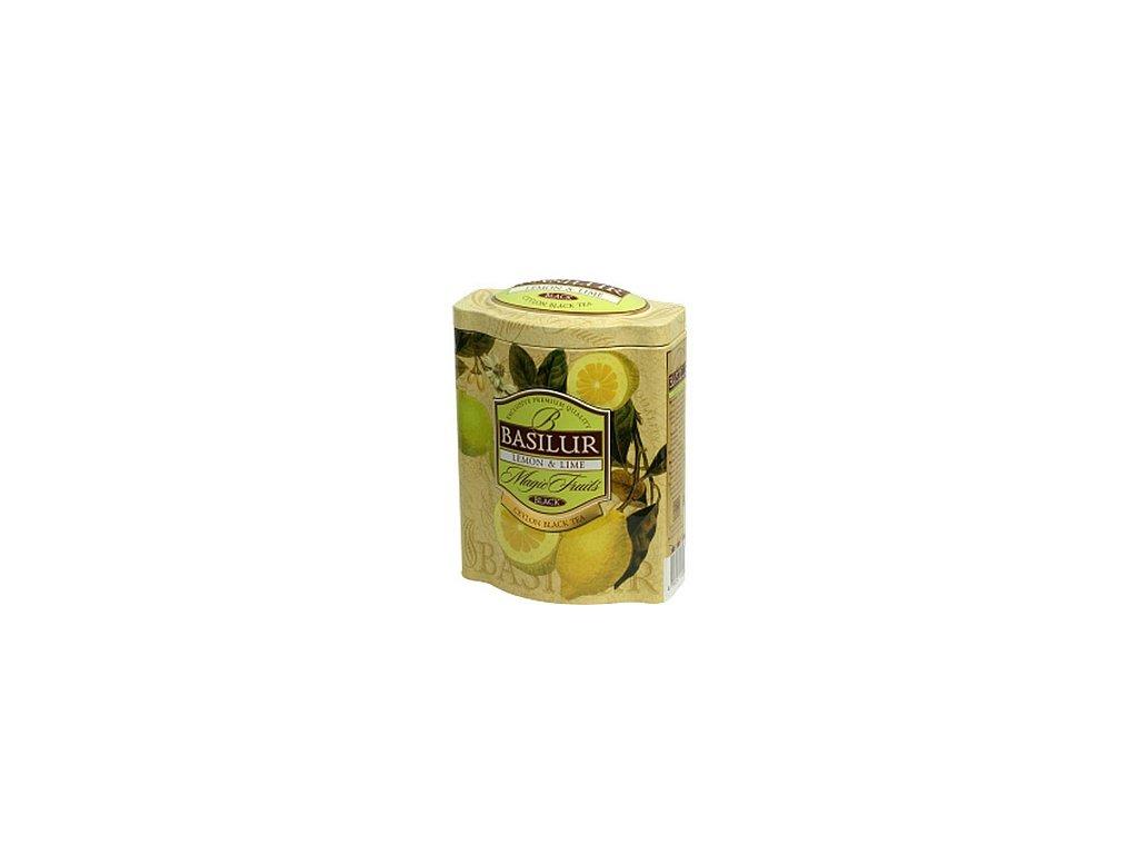 Basilur Magic Lemon & Lime plech 100g