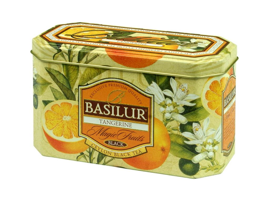 Basilur Magic Fruit Tangerine plech 20x2g