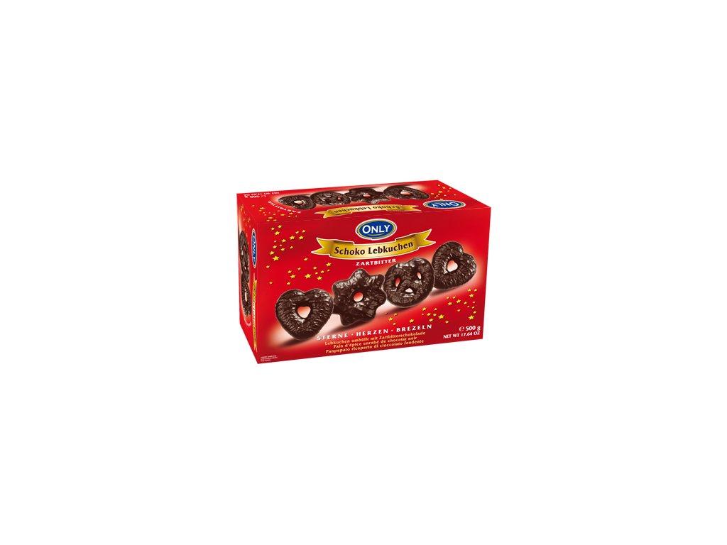 Only Perníky v hořké čokoládě 500g