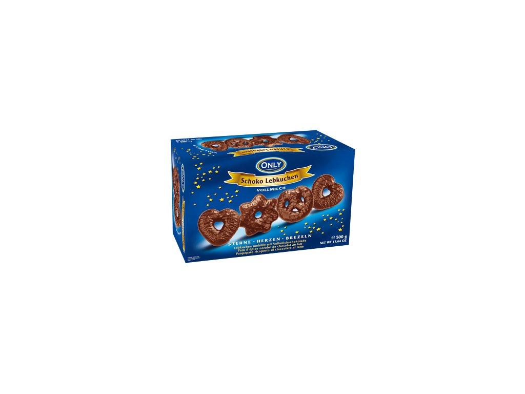 Only Perníky s mléčnou čokoládou 500g