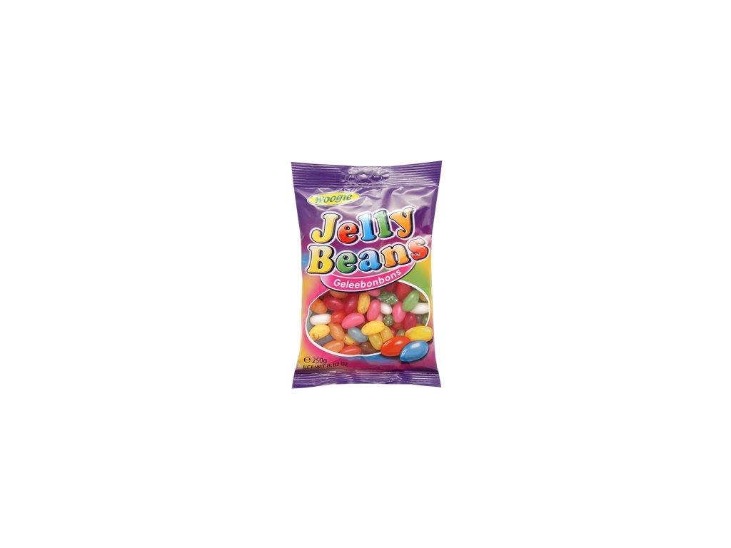 Woogie Jelly Beans ovocné želatinové fazole 250g