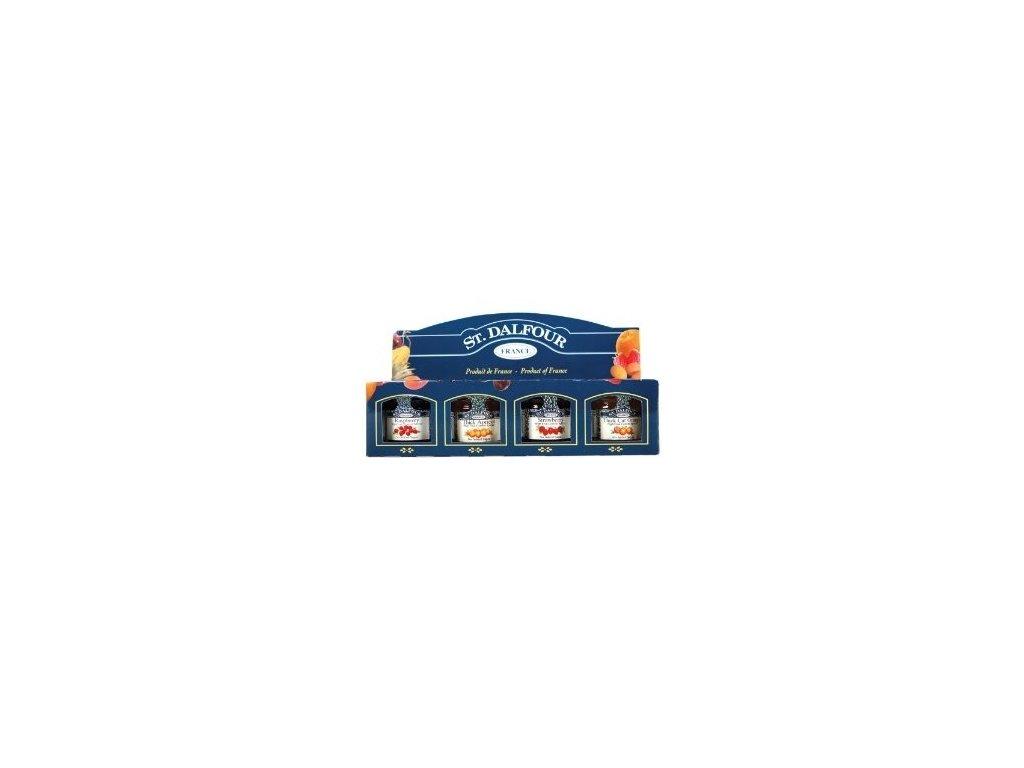 Dárkové balení mini džemů St. Dalfour (4x28g)