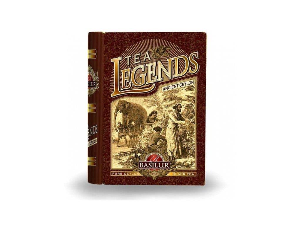 Basilur čajová kniha Legend Ancient Ceylon 100g