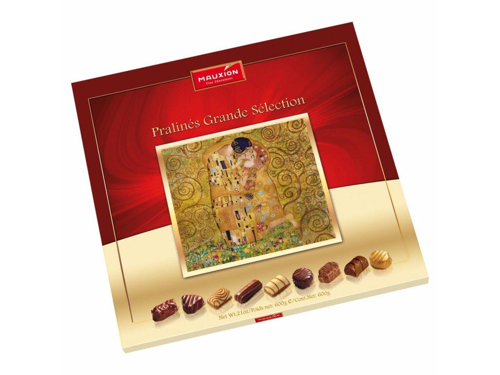 Mauxion Fine Chocolate Pralinés Grande Sélection pralinky z mléčné a bílé čokolády 600g