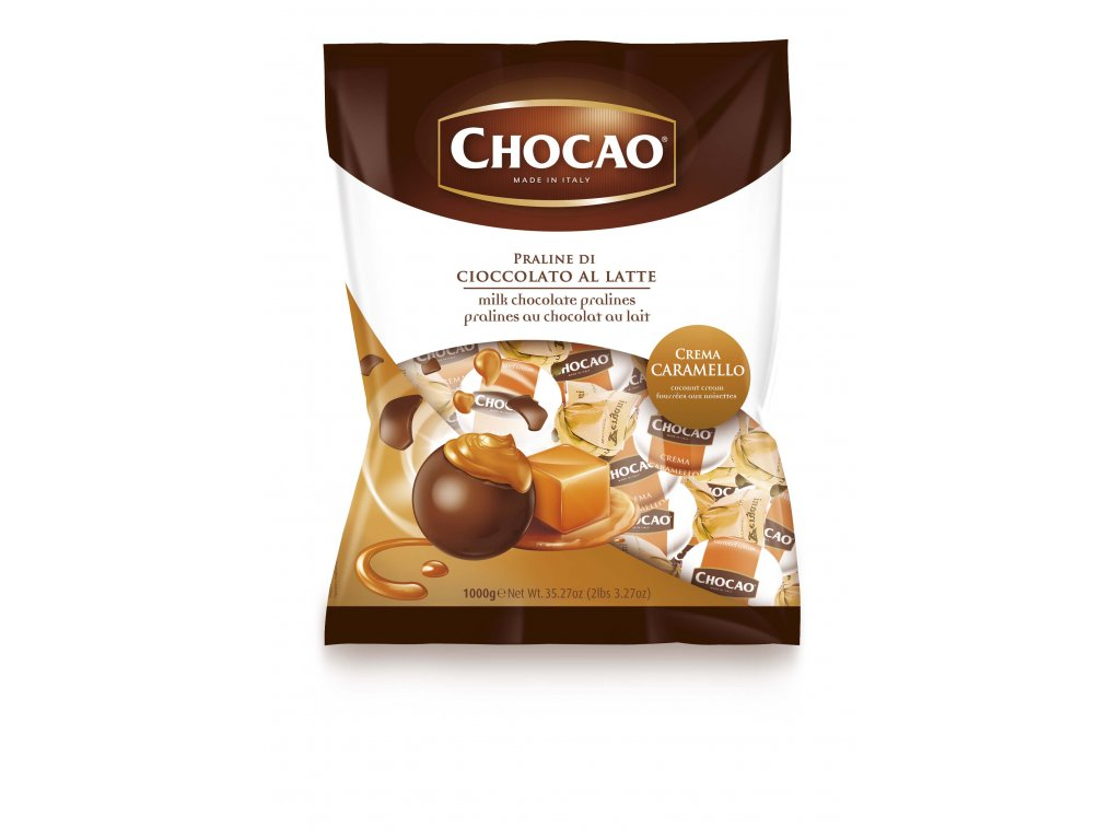 Vergani Čokoládová pralinka s karamelovou náplní 1kg