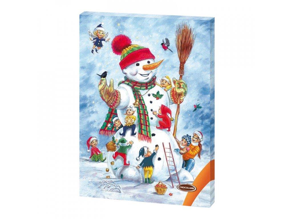Adventní kalendář Sněhulák 50g