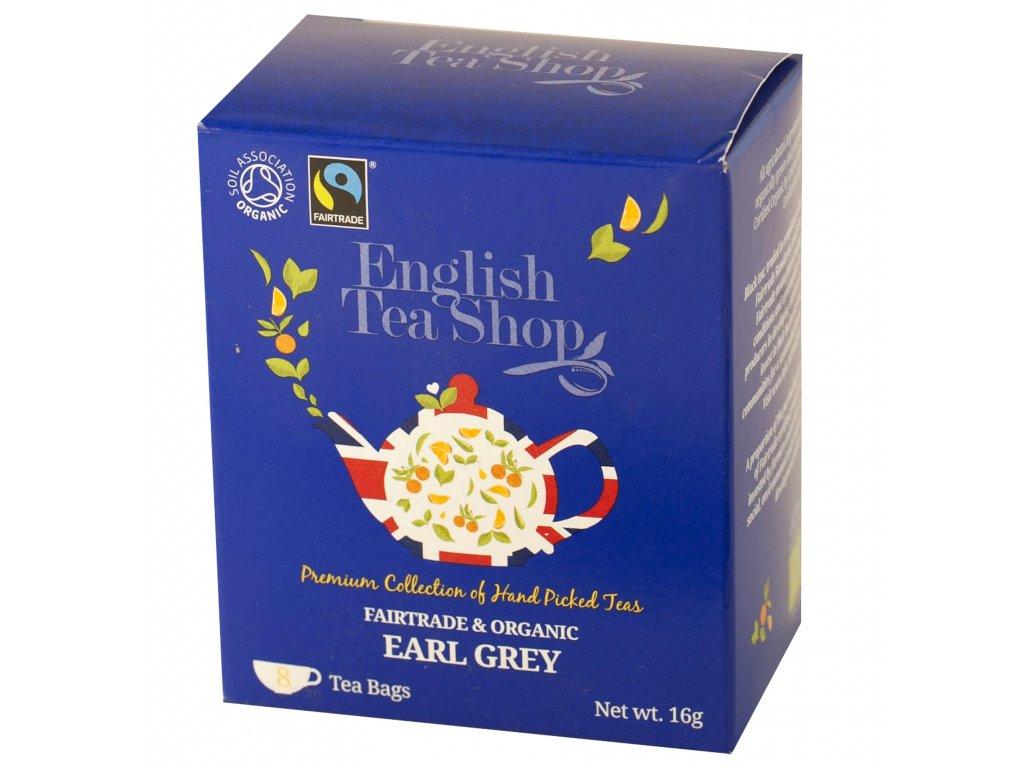 English Tea Shop Earl Grey 8 sáčků