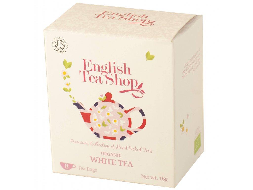 English Tea Shop Čistý bílý čaj 8 sáčků