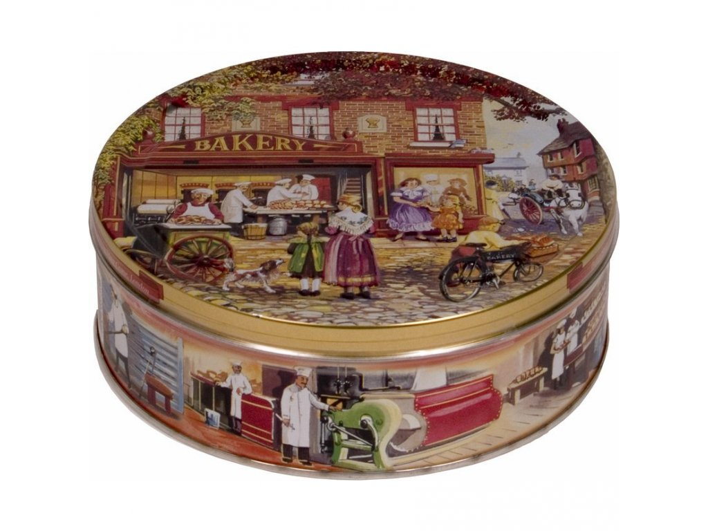 Máslové sušenky v plechové dóze Baker Shop 400g