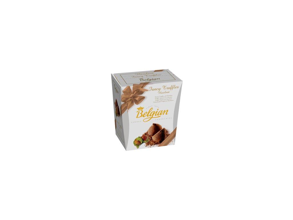 Belgian Fancy Truffles bonboniéra oříškové pralinky 200g