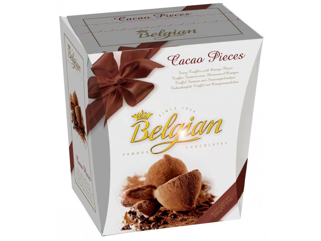 Belgian Fancy Truffles Cocoa Pieces 200g Záruka min.trv.4/2020