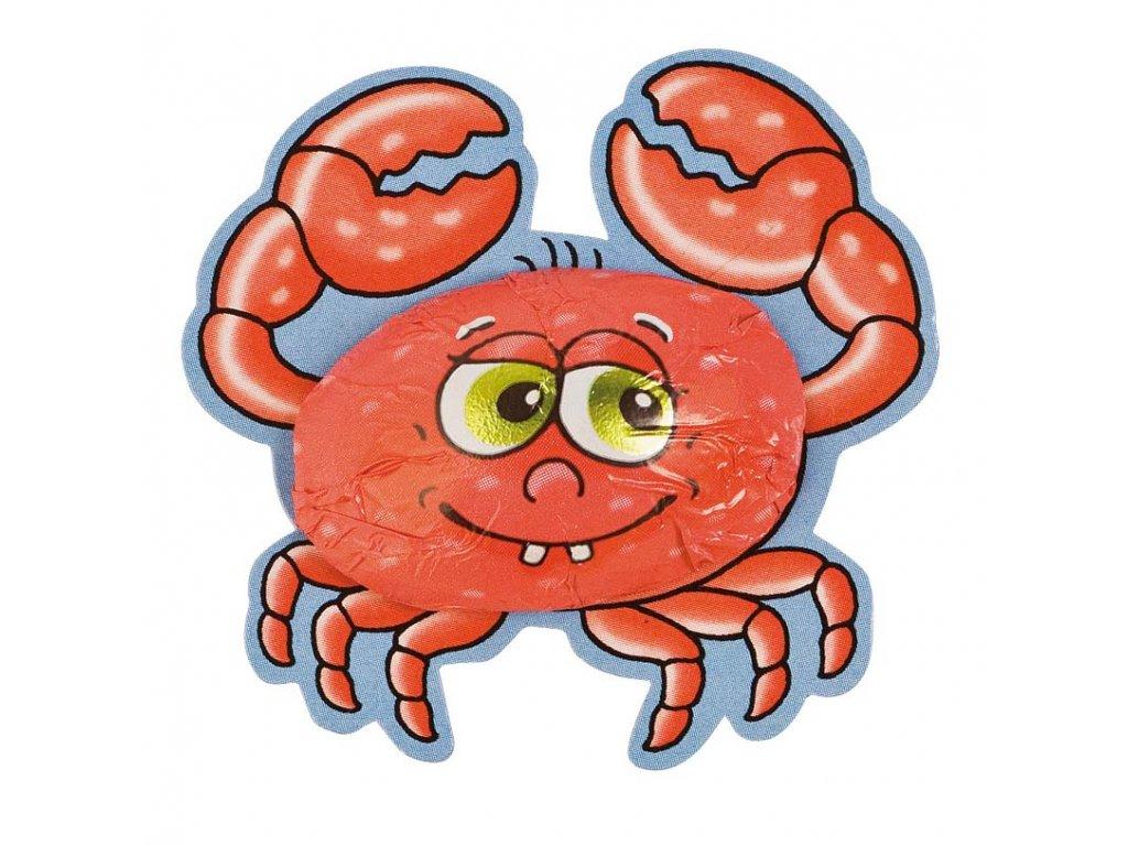 Čokoládový krab 6,25g