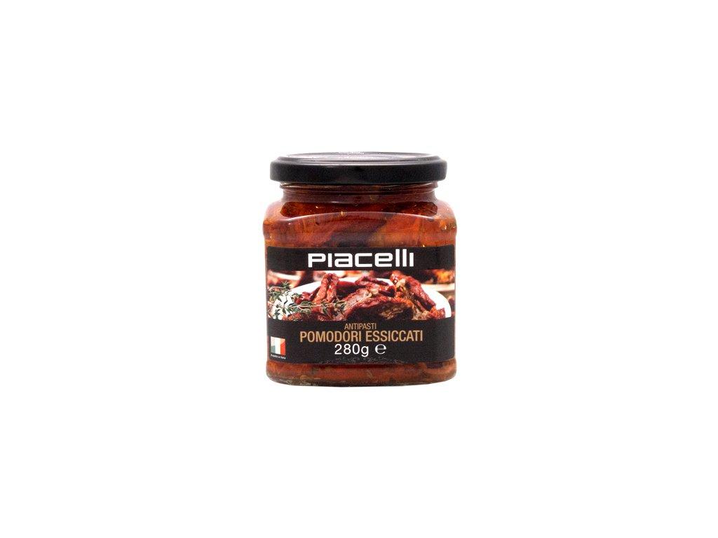 Piacelli kořeněná sušená rajčata v oleji 280g