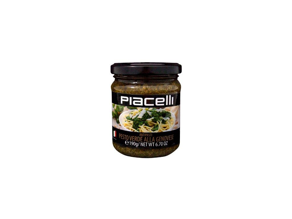 Piacelli bazalkové pesto 190g