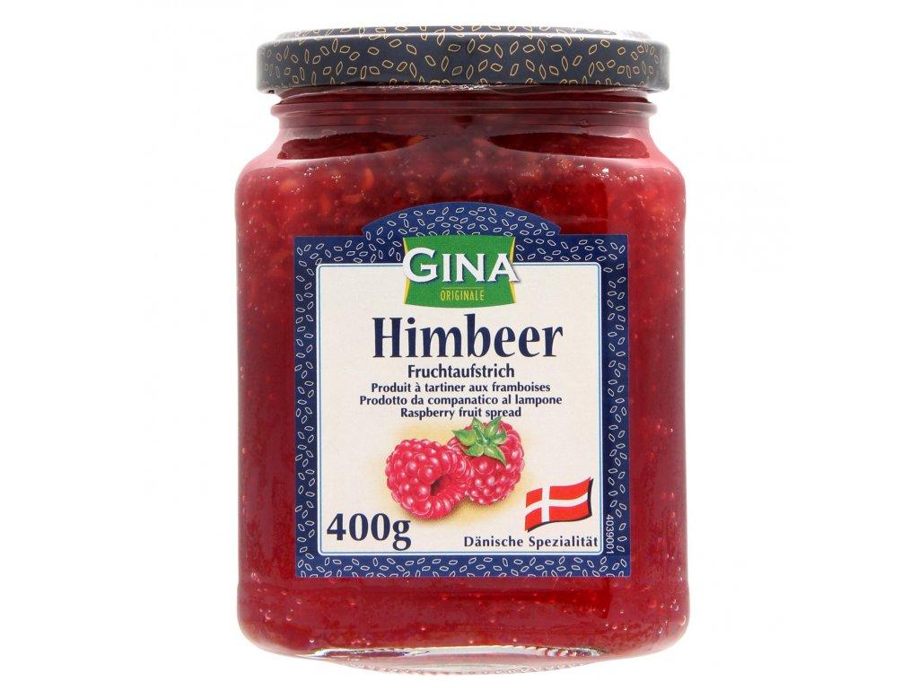 Gina malinový džem 400g