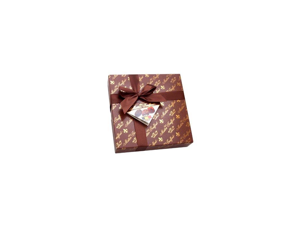 Maitre Truffout směs vybraných pralinek v elegantním hnědém balení 200g
