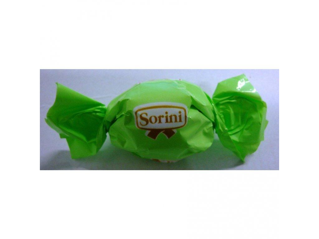 Sorini čokoládový bonbón zelený 1kg