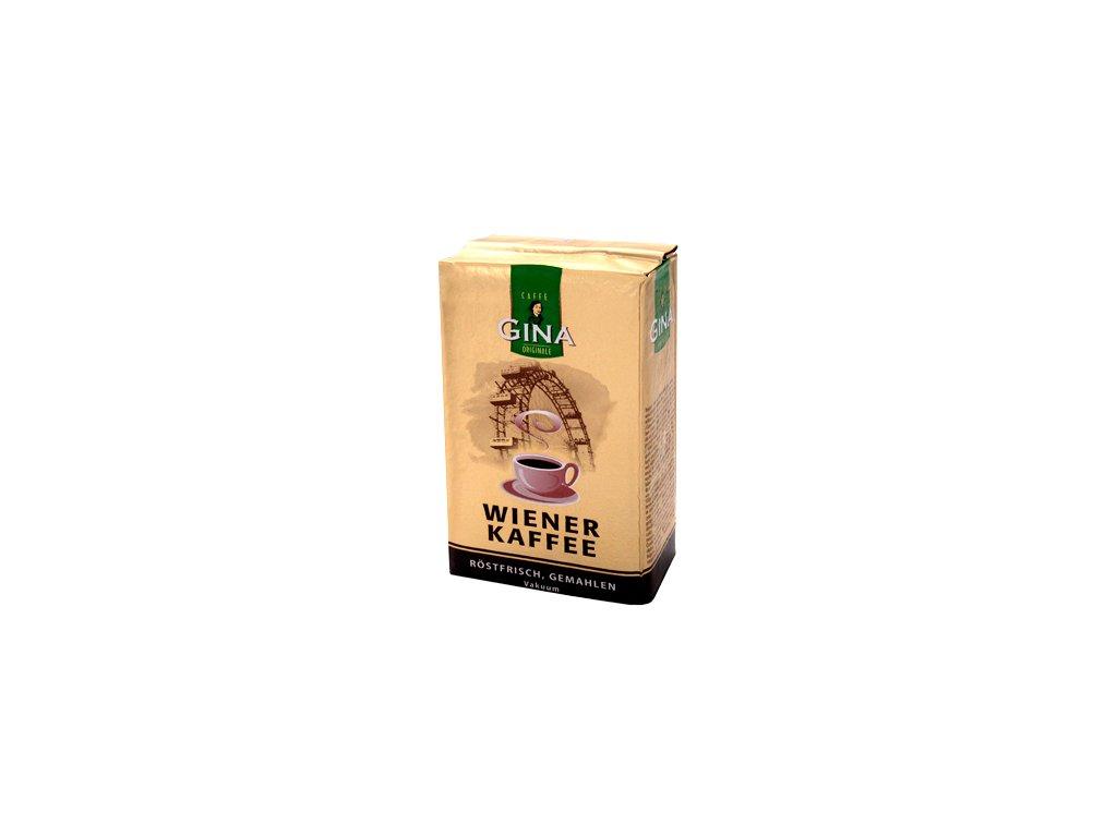 Wiener Gina čerstvě pražené mletá káva 250g