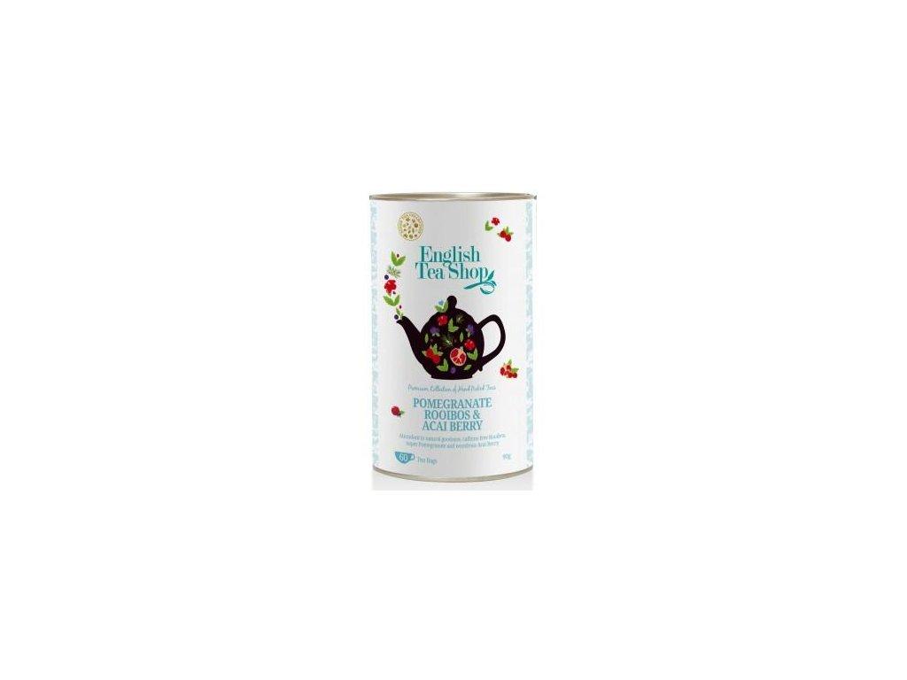 English Tea Shop ROOIBOS, GRANÁTOVÉ JABLKO & ACAI BERRY 60 sáčků