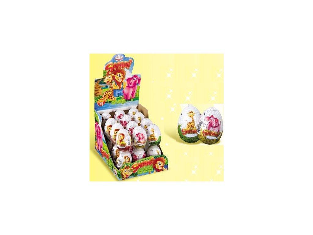 Vajíčko čokoládové Safari s překvapením 25g