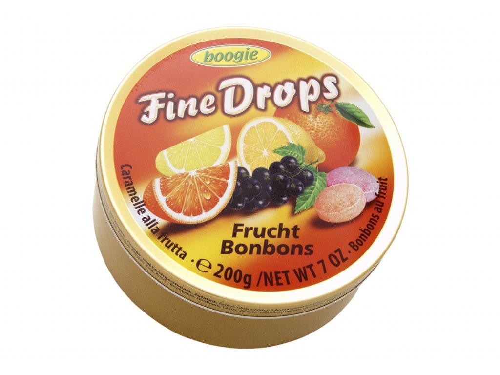 Woogie bonbony ovocné v plechové dóze 200g