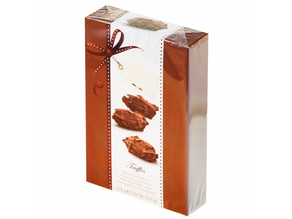 Lanýže z mléčné belgické čokolády 125g Hamlet