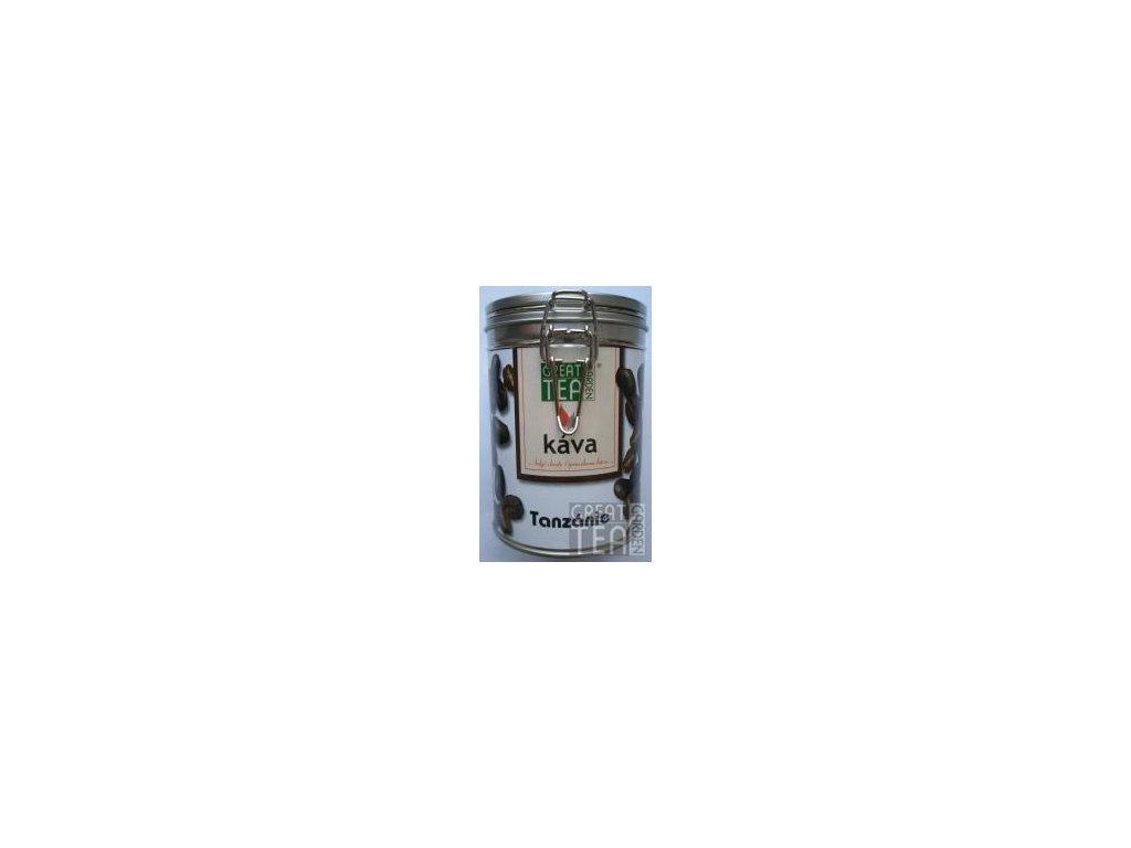 Great Garden Tea káva Tanzánie v dóze s hermetickým uzávěrem 200g