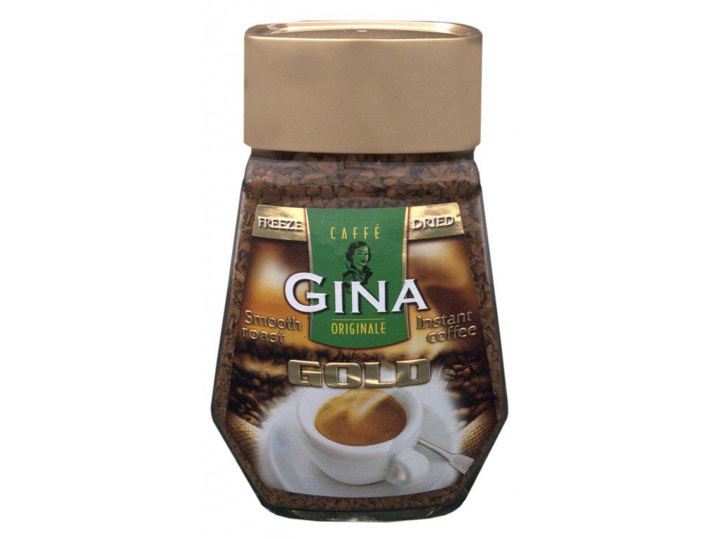 Instantní káva Gina Gold 200g