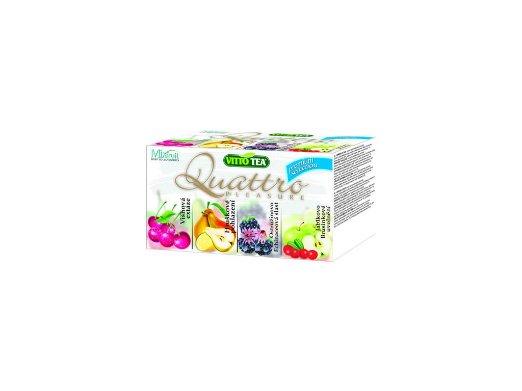 Vitto Tea kolekce čajů Quattro Premium 40g