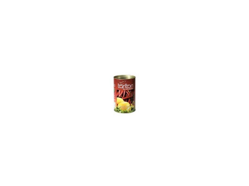 Tarlton zelený čaj Chilli a citrón 100g