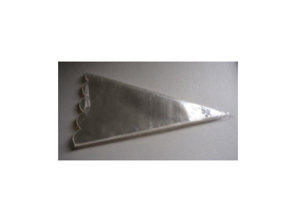Kornout PP 17,5 x 35 cm - 50 my - výsek (100 ks/bal)