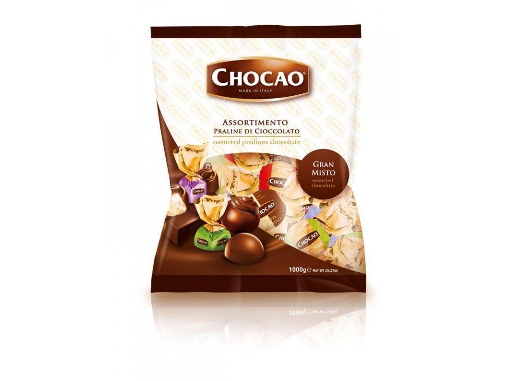 Vergani Chocao Big Bag Milk Balls Směs čokoládových pralinek 1000g