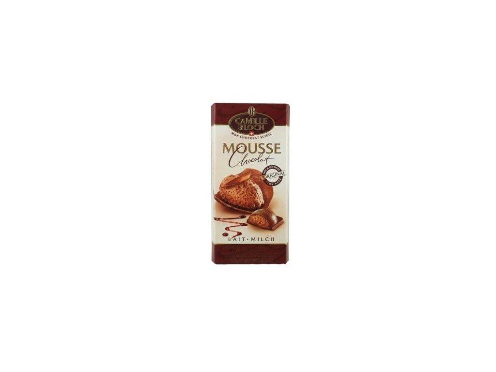 Camille Bloch mouse chocolat Švýcarská mléčná čokoláda s mléčnou náplní 100g
