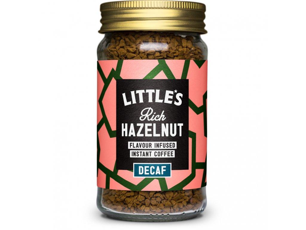 Littles bezkofeinová káva s příchutí oříšku 50g