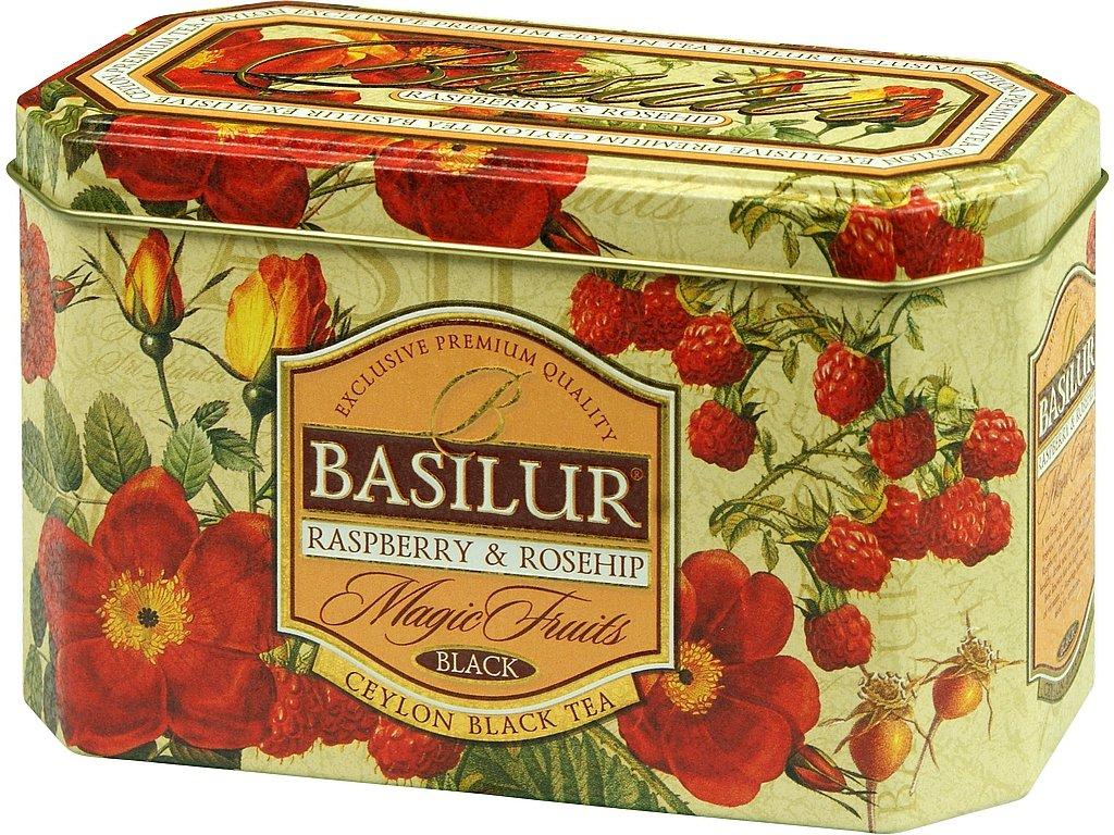 Basilur Magic Raspberry & Rosehip plech 20x2g