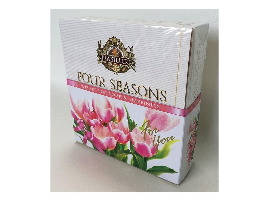 Basilur Four Seasons For You Pink Assorted přebal 40č.s.