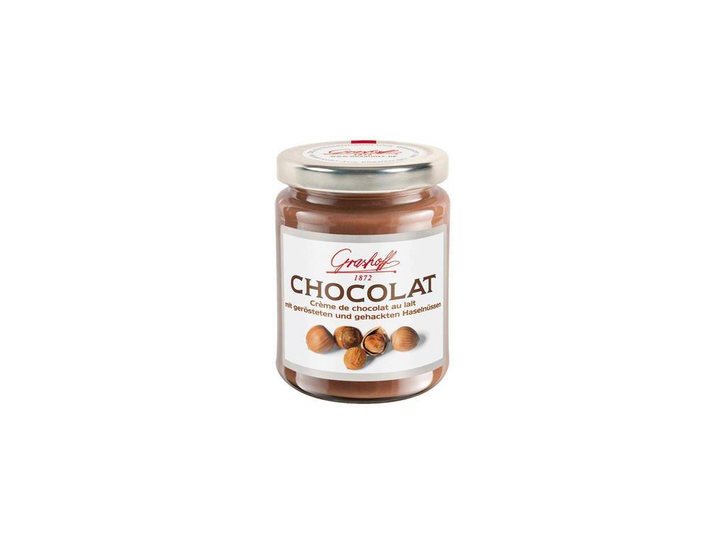Grashoff mléčný čokoládový krém s makadamovými ořechy 250g